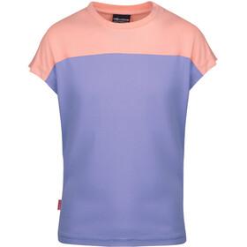 TROLLKIDS Bergen T-Shirt Kids, lavender/apricot